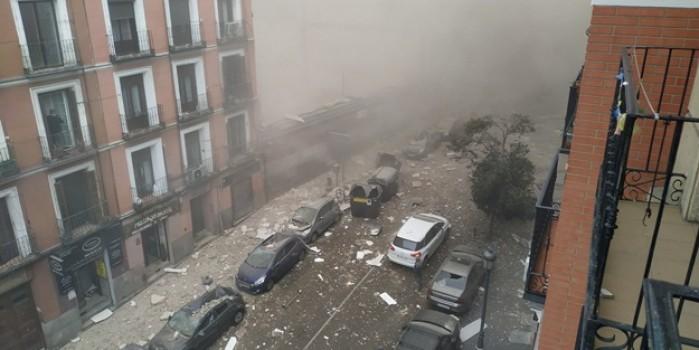 İspanya'da şok! Başkentte şiddetli patlama