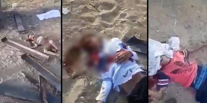 İsrail katliam yapıyor! Filistin'den kan donduran görüntüler!