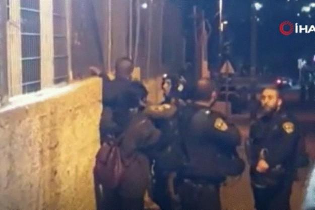 İsrail polisi, Şeyh Cerrah sakinlerine saldırdı