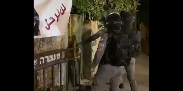 İsrail polisinden Filistinli gence insanlık dışı muamele