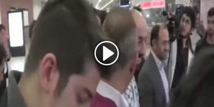İsrail'de gözaltına alınan Orhan Buyruk yurda döndü