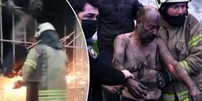İstanbul'da korku dolu anlar! Demirleri keserek kurtarabildiler