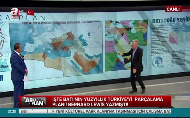 İşte Batı'nın yüzyıllık Türkiye'yi parçalama planı