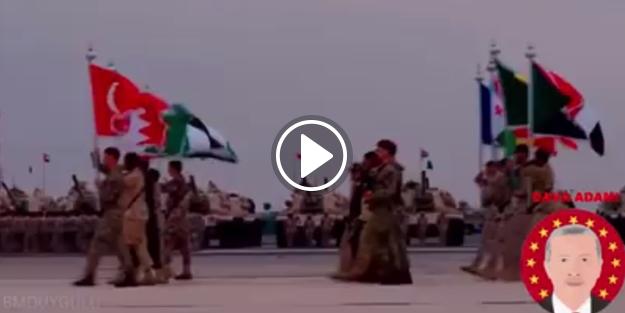 İşte İslam ordusu işte komutan!