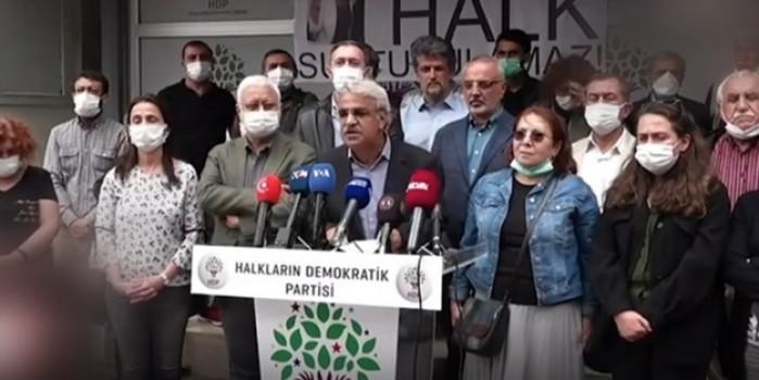 İzmir'deki olayın ardından HDP'lilerden alçak provokasyon
