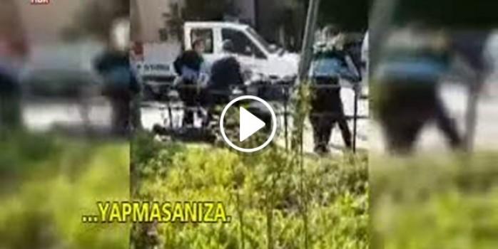 Kadıköy'de zabıta seyyar satıcıyı dövdü