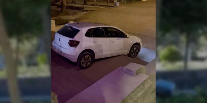 Kadın sürücü navigasyonun değil alkolün götürdüğü yere gitti