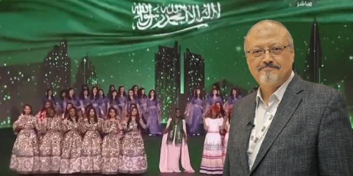 Kadınların açılması hoşlarına gitti! Gazeteci doğrayan Suudi Arabistan'a övgüler düzüyor