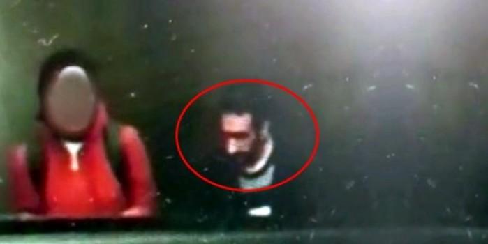 Kameraya yakalandı! Metroda başörtülü kıza iğrenç taciz