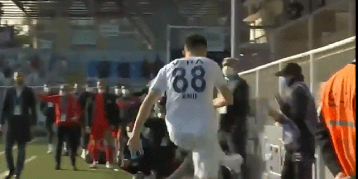Keçiörengücü-Adana Demirspor maçında Anıl Karaer'den skandal