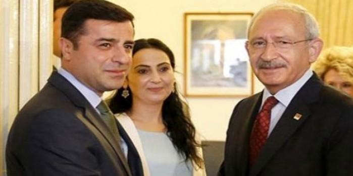 Kılıçdaroğlu'nun Demirtaş sevgisi şaşırttı
