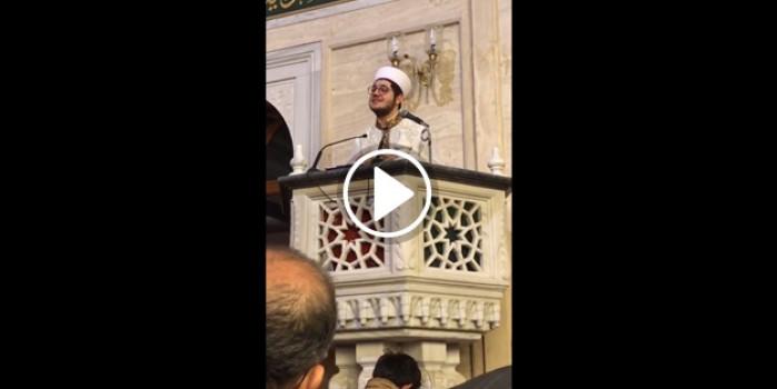 Konya Hacıveyiszade Camii'nde muhteşem manzara