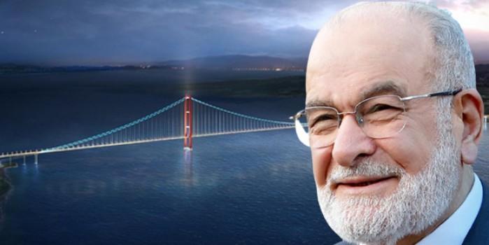 'Köprüye ne gerek var' diyen Karamollaoğlu'ndan bomba çözüm önerisi