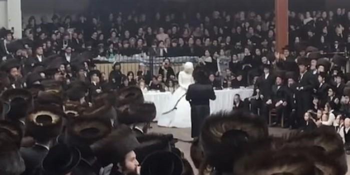 Korona'ya kafa atan binlerce Yahudi gizli düğün yaptı