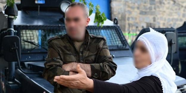 Kürt vatandaştan polise dua