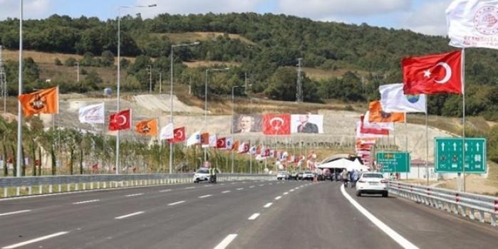 Kuzey Marmara Otoyolu'nun bir etabı daha tamamlanıp hizmete açıldı