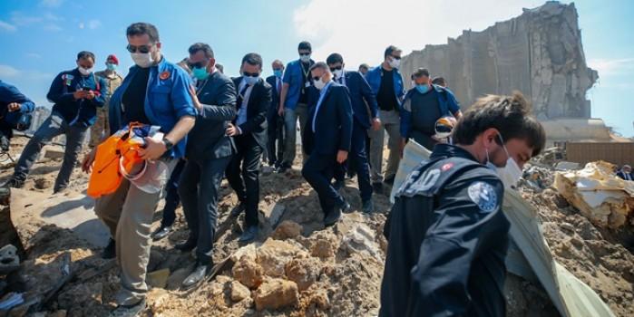 Lübnan sokakları Erdoğan sloganlarıyla inledi: Canımız kanımız sana feda