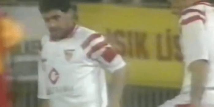 Maradona'nın Galatasaray'a karşı oynadığı maç