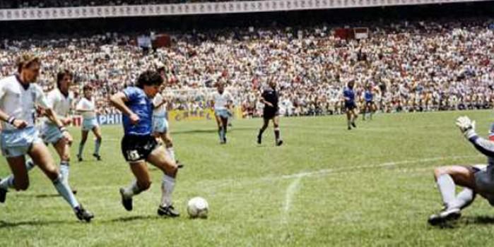 Maradona'yı dünyaya duyuran o maç