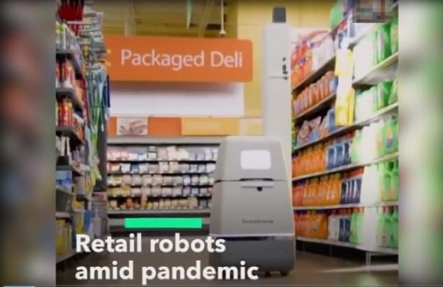 Marketlerde robotlar devreye girebilir