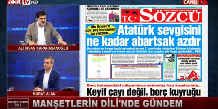 Mevlid Kandili'nde nazire yaparcasına… Sözcü haşa Peygabmer ile Mustafa Kemal'i karşı karşıya getiriyor