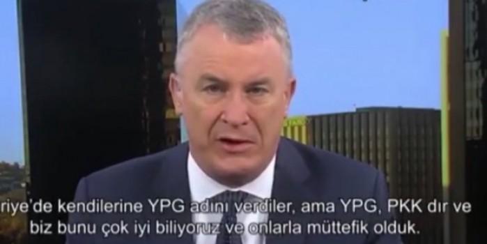 Micheal Doran: YPG PKK'dır ve biz bunu çok iyi biliyoruz
