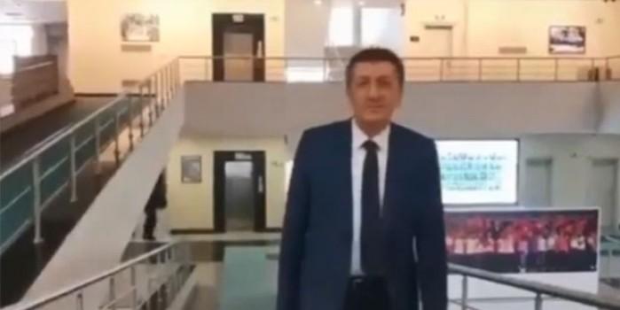 Milli Eğitim Bakanı Selçuk'tan videolu