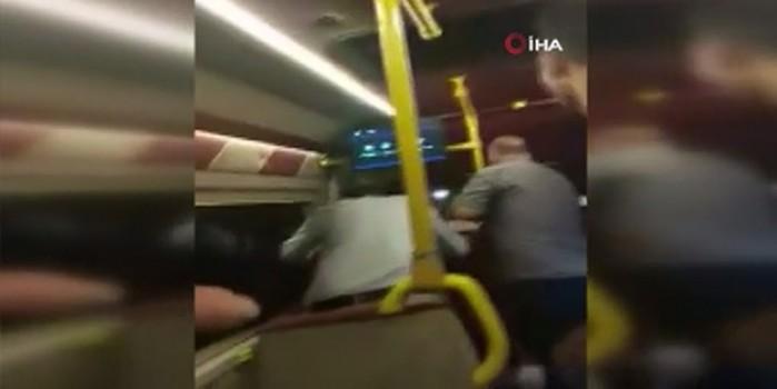 Minibüsteki maske tartışmasında kan döküldü