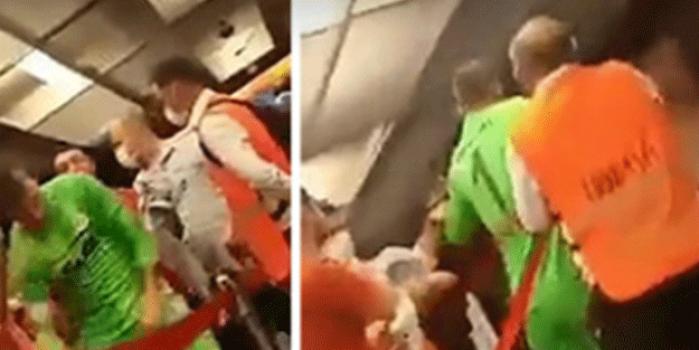 Muslera rakip futbolculara saldırdı