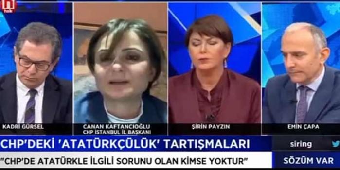 Mustafa Kemal mi, Atatürk mü? Canan Kaftancıoğlu'nun kıvraklığı baş döndürüyor