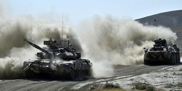 Nefesleri kesen görüntüler! Türkiye ve Azerbaycan'ın zırhlı araçları savaşa hazır hale getirildi