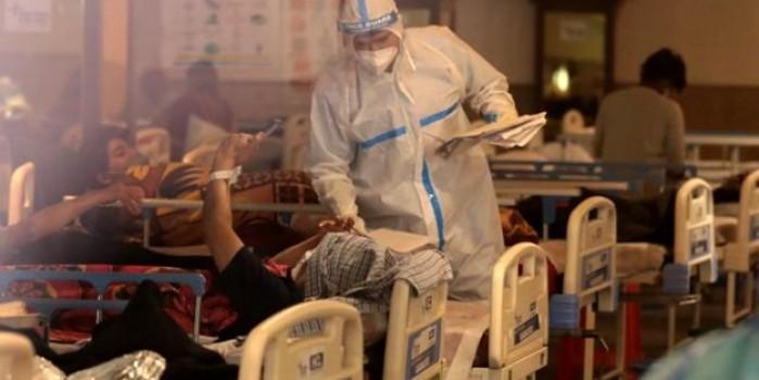 O ülkede sağlık sistemi çöktü, bir yatakta iki hasta yatmaya başladı