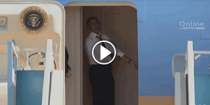 Obama o ismi kapıda böyle bekledi: Hadi gel gidelim