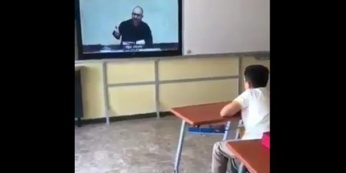 Öğrencilere Allah'ın varlığının anlatıldığı videonun izletilmesi laikçi yobazları kudurttu!