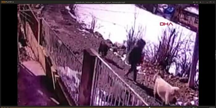Ölü bulunmuştu... O çobanın son anları kamerada