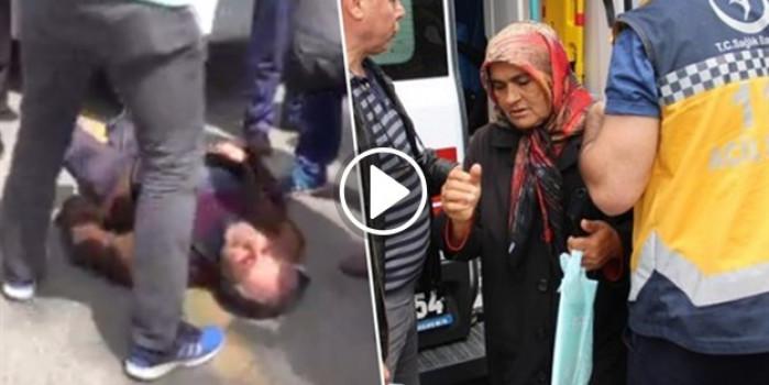 Otobüs çarpan adama eşinden şok tepki: Oh olsun sana, keşke ölseydin