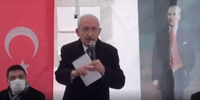 Oy isteyen Kılıçdaroğlu: Namussuz siyasete evet diyeceksiniz