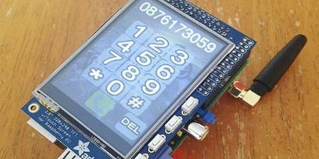 Raspberry Pi'den akıllı telefon PiPhone!