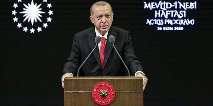 Reste rest! Cumhurbaşkanı Erdoğan'dan Fransız mallarına boykot çağrısı