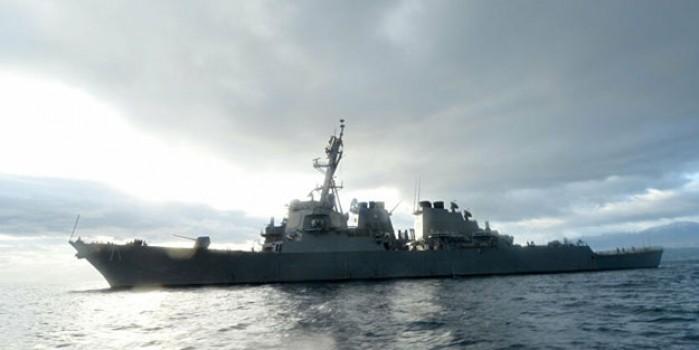 Rus ve ABD savaş gemileri Japon Denizi'nde karşı karşıya geldi