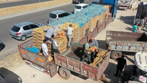 Şahinbey Belediyesi'nden çiftçilere dev destek