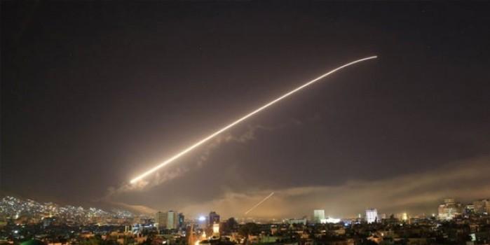 Şam ve çevresine hava saldırısı düzenlendi