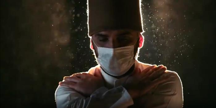 Şeb-i Arus tanıtım videosunda dikkat çeken maskeli semazen