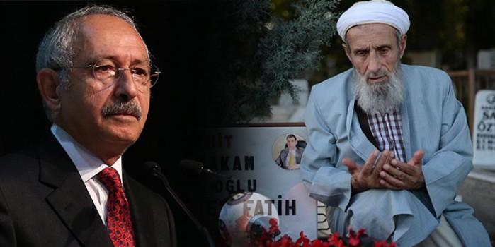 Şehit Kaymakam Safitürk'ün babasından Kılıçdaroğlu'na 'militan' tepkisi