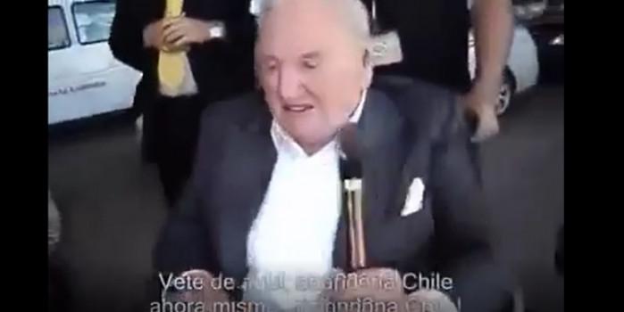 Şilili genç Rockefeller'e: Seni pislik torbası, Şili'den defol!