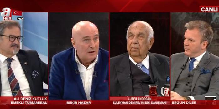 Süleyman Demirel'in danışmanı Akdoğan'dan çarpıcı açıklama: CIA'ye çalışan büyük holdingler var