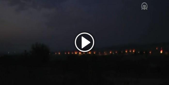 Suriye harekatından ilk görüntüler!