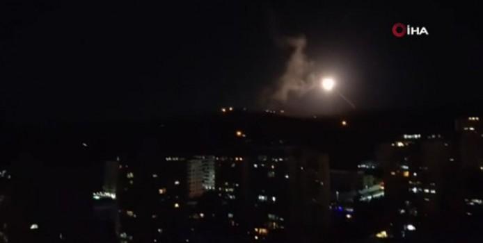 Suriye, İsrail hava saldırısını engelledi