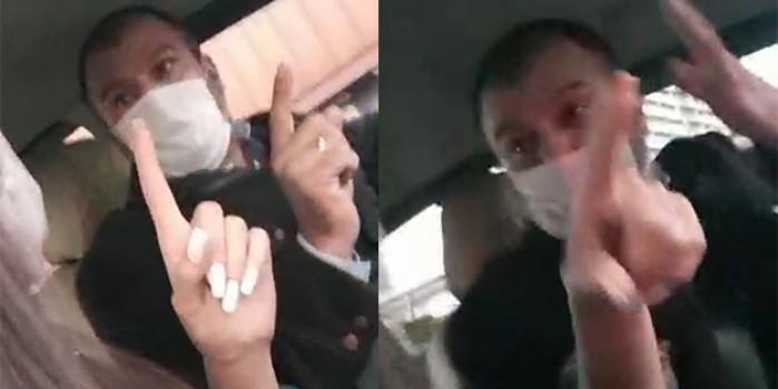 Taksiciden kadın müşteriye şok tehdit: Seni gebertirim!