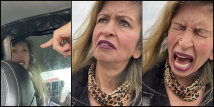 Taksicinin sarhoş kadınla imtihanı